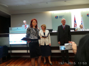 Dodela Nacionalne nagrade za poslovnu izvrsnost – Oskar kvaliteta 2015.