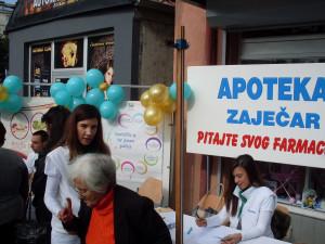 """Akcija """"Pitajte svog farmaceuta"""" – Boljevac, 27.9.2016."""