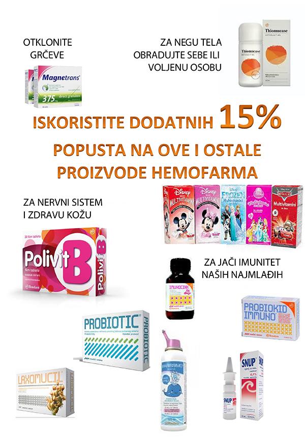 Promocije u našim apotekama – april 2019.