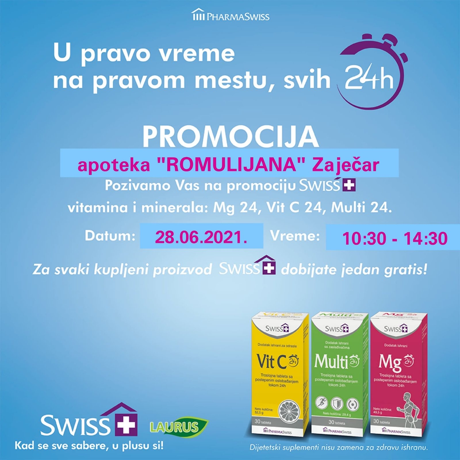"Promocija – Apoteka ""Romulijana"" Zaječar"